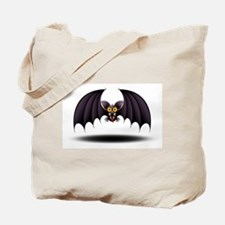 Bat Cartoon Tote Bag
