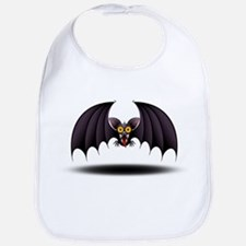 Bat Cartoon Bib
