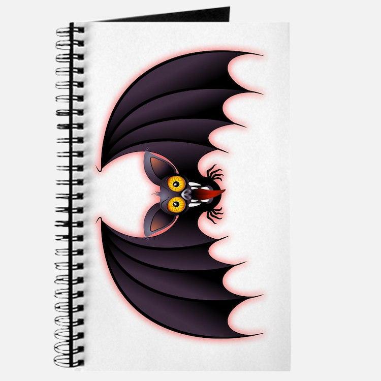 Bat Cartoon Journal