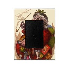 Vintage Christmas Santa Claus Picture Frame