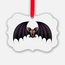 Bat Cartoon Ornament