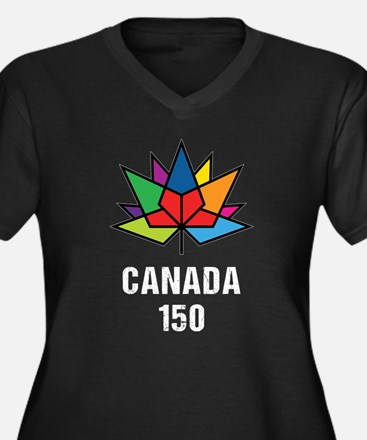 Canada 150th Anniversary Plus Size T-Shirt