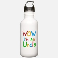 WOW I'm an Uncle Water Bottle