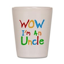 WOW I'm an Uncle Shot Glass