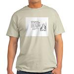 Huangbo Ash Grey T-Shirt