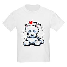 I Love Westies T-Shirt