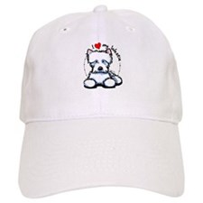 I Love Westies Baseball Cap