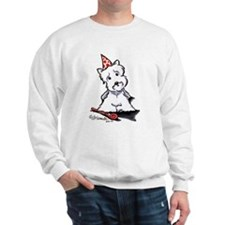 Westie Party Sweatshirt