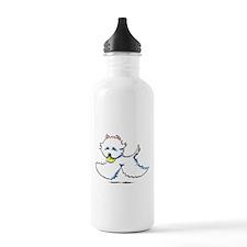 Westie Playtime Water Bottle