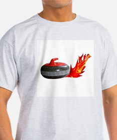 Flaming Rock Ash Grey T-Shirt