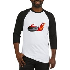 Flaming Rock Baseball Jersey