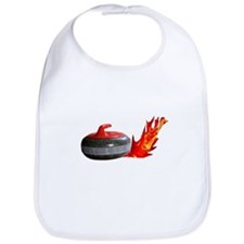 Flaming Rock Bib
