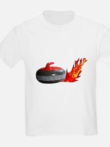 Flaming Rock Kids T-Shirt