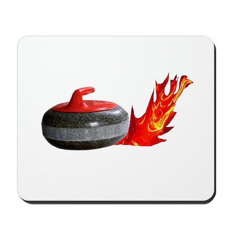 Flaming Rock Mousepad