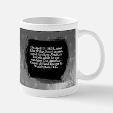 John Wilkes Booth Historical Mug