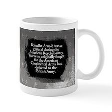 Benedict Arnold Historical Small Mug