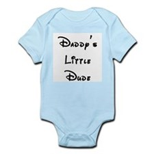 Daddy's Little Dude Infant Bodysuit