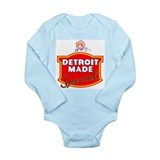 Detroit Long Sleeves Bodysuits