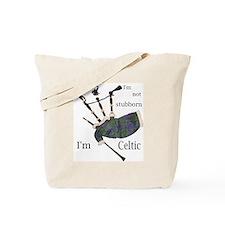 Stubborn Celt Tote Bag
