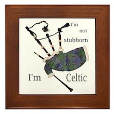 Stubborn Celt Framed Tile