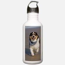 Cute Cori Running on B Water Bottle