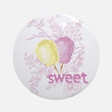 Cotton Candy Sweet Ornament (Round)