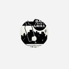 Retro Bar & Grill Mini Button
