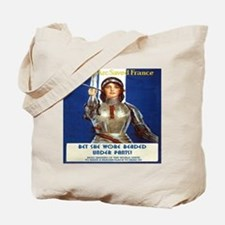 2 Sided Funny Tote! Toots and Joan Of Arc