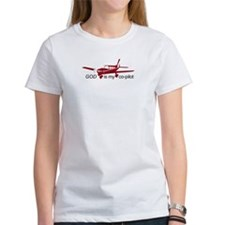 God is my co-pilot Fixed Tee