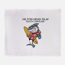 Hilton Head Island Throw Blanket