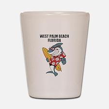West Palm Beach Shot Glass