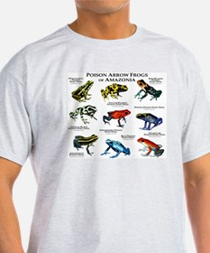 Poison Dart Frogs of Amazonia T-Shirt