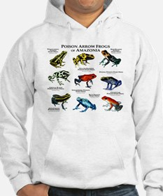 Poison Dart Frogs of Amazonia Hoodie