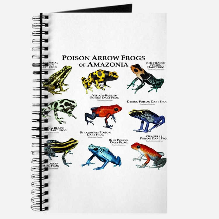 Poison Dart Frogs of Amazonia Journal