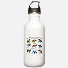 Poison Dart Frogs of Amazonia Water Bottle