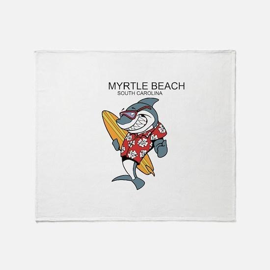 Myrtle Beach Throw Blanket