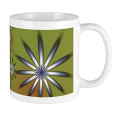Abstract Daisy Field Small Mug