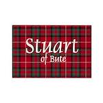 Tartan - Stuart of Bute Rectangle Magnet