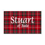 Tartan - Stuart of Bute 20x12 Wall Decal