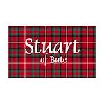 Tartan - Stuart of Bute 35x21 Wall Decal