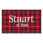 Tartan - Stuart of Bute Sticker (Rectangle)