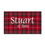 Tartan - Stuart of Bute Rectangle Car Magnet