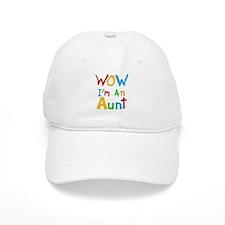 WOW I'm an Aunt Baseball Cap