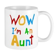 WOW I'm an Aunt Mug