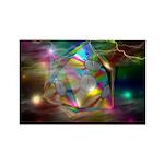time warp Rectangle Magnet (100 pack)