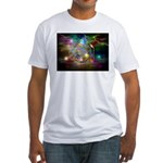 time warp Fitted T-Shirt