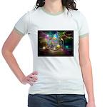 time warp Jr. Ringer T-Shirt