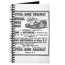Utica Rome Dragway Ad Journal