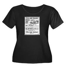 Utica Rome Dragway Ad Plus Size T-Shirt