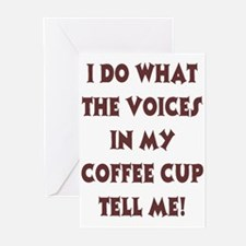 Caffiene Cackles Greeting Cards (Pk of 10)